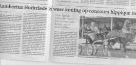 Krantenartikel Norg in Dagblad van het Noorden